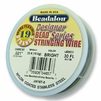 "Beadalon 19 Strand .021"" 30ft"