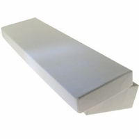 White Cotton Filled Boxes 8 x 2 x 7/8