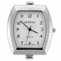 Silver Jumbo Bold Watch Face