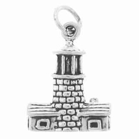 Light House Sterling Silver Charm