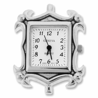 Silver Jumbo Picture Frame Watch Frace