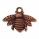Antiqued Copper Bumble Bee 16x21mm Charm (1PC)