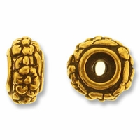 Antique Gold Meadow Bead