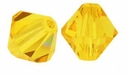 Sunflower 5mm Swarovski crystal  Xilion bicone 5328 Bead (10PK)