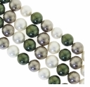 Multi Color 013 6mm South Sea Pearls 16-Inch Strand