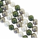 Multi Color 013 8mm South Sea Pearls 16-Inch Strand