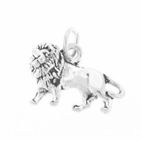 Lion Sterling Silver Charm