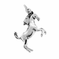 Stallion Sterling Silver Charm