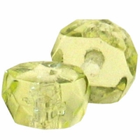 3 x 6mm Jonquil Czech Fire Polished Rondelles (25PK)