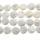 White 12-13mm Coin Freshwater Pearl Strand