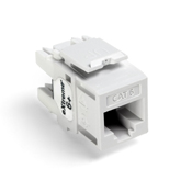 Leviton 61110-RW6 eXtreme 6+ QuickPort Connector, CAT 6, white