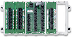 Leviton 47603-18P 18-Port Structured Media™ Panel