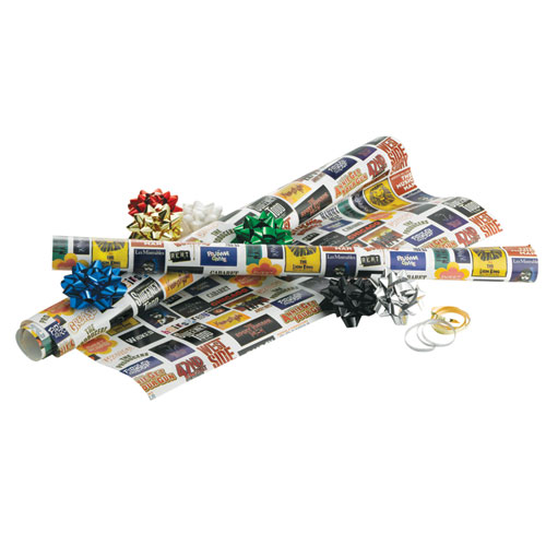 broadway cares classic collection gift wrap