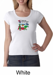 Vegan Ladies Shirt  – Eat Your Veggies Scoop Neck Shirt