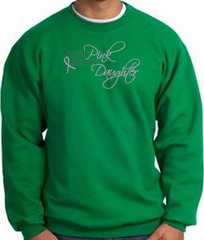 Breast Cancer Sweatshirt I Wear Pink For My Daughter Kelly Sweat Shirt