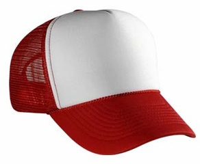 Professional Two Tone Mesh Hat – Polyester Adjustable Cap