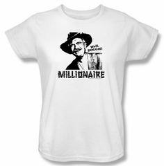 Beverly Hillbillies Ladies Shirt Millionaire T-shirt