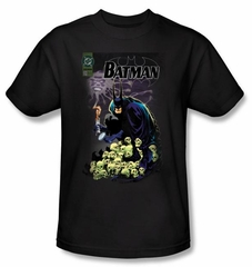 Batman Kids T-Shirt - Cover #516 Youth Black Tee