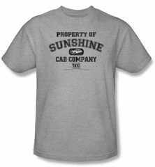 Taxi Kids T-Shirt - Property Of Sunshine Athletic Grey Youth