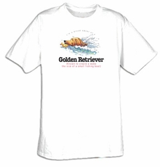 Golden Retriever Shirt I'm a Proud Owner of a Golden Retriever Tee