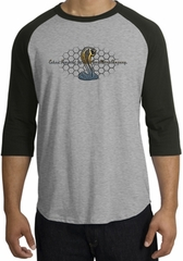 Ford Mustang Cobra Raglan Shirt - Ford Motor Grill Heather Grey/Black