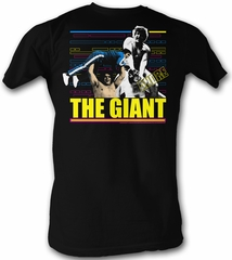 Andre The Giant T-Shirt – Giant F Wrestling Black Adult Tee Shirt