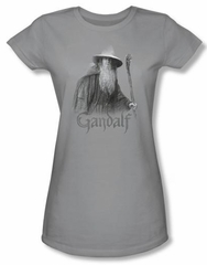 Lord Of The Rings Juniors T-Shirt Gandalf The Grey Silver Tee Shirt