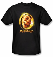 The Lord Of The Rings Kids T-Shirt My Precious Black Shirt Youth