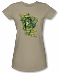 Lord Of The Rings Juniors T-Shirt Treebeard Slow Talker Safari Tee