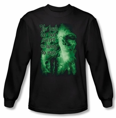 The Lord Of The Rings Long Sleeve T-Shirt King Of The Dead Black Shirt