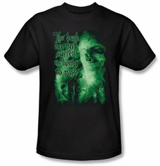 The Lord Of The Rings Kids T-Shirt King Of The Dead Black Shirt Youth