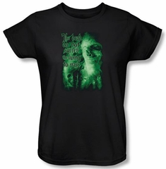 The Lord Of The Rings Ladies T-Shirt King Of The Dead Black Tee Shirt