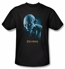 The Lord Of The Rings T-Shirt Sneaking Gollum Adult Black Tee Shirt