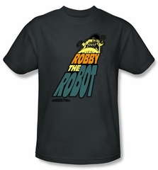 Forbidden Planet T-Shirt Warner Bros Movie Robby The Robot Adult Shirt
