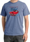 Ford Mustang Pigment Dyed Shirts - Chairman Of The Ford Tee Shirts