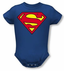 Superman Romper Infant Creeper