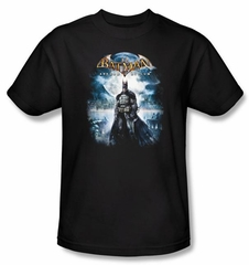 Batman T-Shirt - Game Cover Adult Black