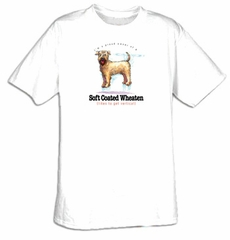 Soft Coated Wheaten T-shirt I'm a Proud Owner of a Soft Coated Wheaten
