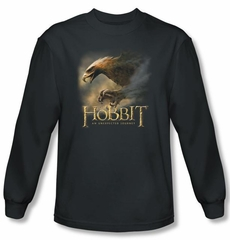 The Hobbit Shirt Movie Unexpected Journey Eagle Charcoal Long Sleeve