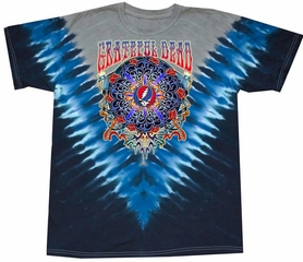 Grateful Dead Shirt Tie Dye New Years V-Dye Tee T-Shirt
