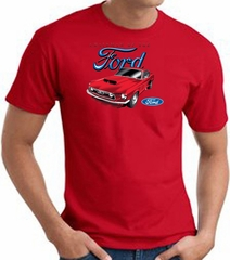 Ford Mustang T-Shirt - Chairman Of The Ford Adult Red Tee