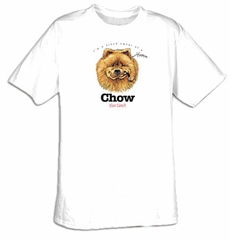 Chow Chow T-shirt - I'm a Proud Owner of a Chow - Got Cats? Dog Tee