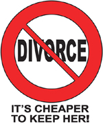 Divorce T-shirts Funny Cheaper To Keep Her Adult Tee Shirts
