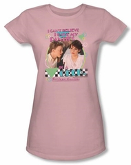 Sixteen Candles Juniors T-shirt Movie Panties Pink Tee Shirt