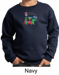 Vegan Kids Sweatshirt – Eat Your Veggies Youth Sweat Shirt