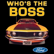 Ford Mustang Boss T-shirts - Who's The Boss 302