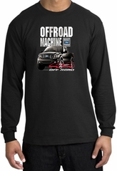 Ford Truck Long Sleeve Shirt - F-150 4X4 Offroad Machine Black T-Shirt