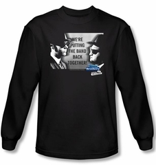 The Blues Brothers T-shirt Movie Band Black Long Sleeve Tee Shirt