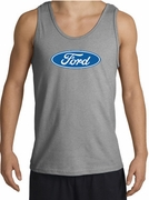 Ford Logo Tank Tops - Oval Emblem Classic Car Adult Tanktops