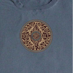 Mandala Symbol Adult Unisex Long Sleeve Shirt